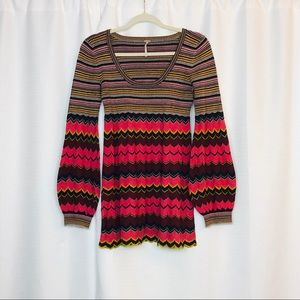 Free People Sweater Tunic Size Medium
